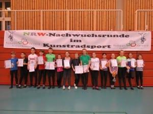 Siegerehrung NRW-Nachwuchsserie2015 Kufa