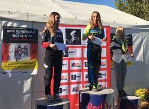 BMX Bundesliga, Gesamtsiegerin Sydney van Wichelen - (c) Christoph Kania