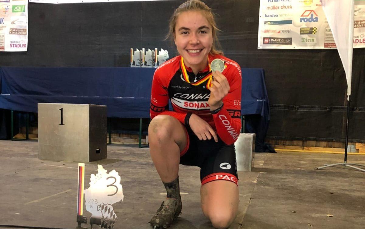 Emma Blömecke holt Bronze bei MTB-DM 2020. Foto: Armin M. Küstenbrück/ EGO Promotion
