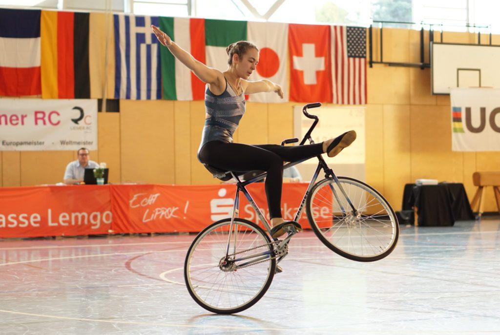 UCI Artistic Cycling World Cup 2021 in Lemgo-Lieme - RSV NRW